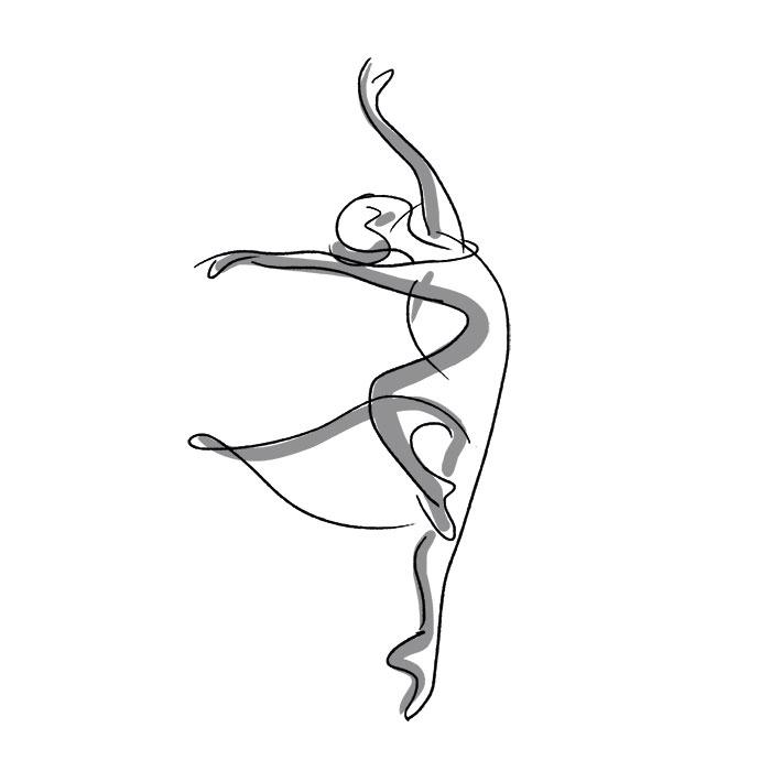 D fi dessin f vrier r trospective part 3 cabaroc - Dessin de danseuse moderne jazz ...